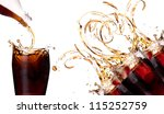 fresh cola drink background... | Shutterstock . vector #115252759