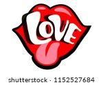bright vector speech bubble... | Shutterstock .eps vector #1152527684