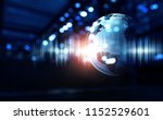 technology of sound | Shutterstock . vector #1152529601