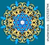 illustration  brooch pendant... | Shutterstock .eps vector #1152533744