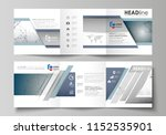 set of business templates for...   Shutterstock .eps vector #1152535901