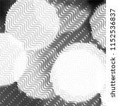 black and white grunge stripe... | Shutterstock .eps vector #1152536837