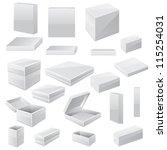 box set. vector | Shutterstock .eps vector #115254031