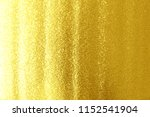 gold foil for background close... | Shutterstock . vector #1152541904