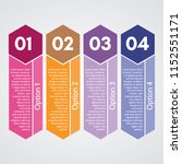 four elements of infographic... | Shutterstock .eps vector #1152551171