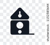 birdhouse vector icon isolated... | Shutterstock .eps vector #1152585644