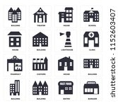 set of 16 icons such as burguer ...