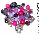 an exotic mix of pink  purple   ... | Shutterstock . vector #1152604574