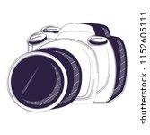 photographic camera design | Shutterstock .eps vector #1152605111
