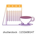 coffee mug design | Shutterstock .eps vector #1152608147