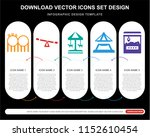 5 vector icons such as... | Shutterstock .eps vector #1152610454