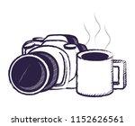 photographic camera design   Shutterstock .eps vector #1152626561