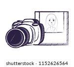 photographic camera design   Shutterstock .eps vector #1152626564