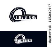 tyre shop logo design   tyre... | Shutterstock .eps vector #1152660647