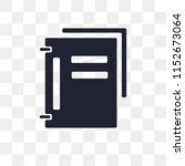 folder vector icon isolated on... | Shutterstock .eps vector #1152673064
