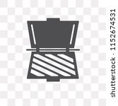 toaster vector icon isolated on ...   Shutterstock .eps vector #1152674531