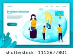 vector concept illustration   ... | Shutterstock .eps vector #1152677801