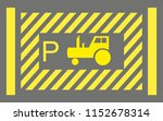 heavy vehicle parking place...   Shutterstock .eps vector #1152678314