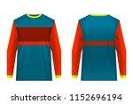 templates of sportswear designs ...   Shutterstock .eps vector #1152696194