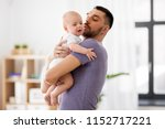 family  parenthood and people... | Shutterstock . vector #1152717221