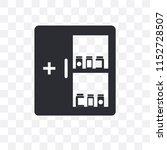 medicine cabinet vector icon... | Shutterstock .eps vector #1152728507
