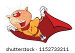 illustration of a cute cat.... | Shutterstock . vector #1152733211