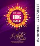vector abstract for raksha... | Shutterstock .eps vector #1152735884
