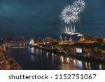 fireworks in newcastle upon...   Shutterstock . vector #1152751067