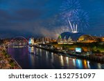 fireworks in newcastle upon...   Shutterstock . vector #1152751097