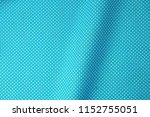 close up of blue fabric with... | Shutterstock . vector #1152755051