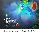 beautiful wallpaper design of... | Shutterstock .eps vector #1152757241