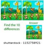 illustration of children. the... | Shutterstock . vector #1152758921
