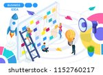 isometric concept of developing ... | Shutterstock .eps vector #1152760217