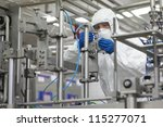 industrial professional in... | Shutterstock . vector #115277071