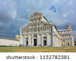 The Marble Facade Of Pisa...