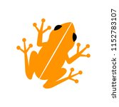 Vector Frog Icon Isolated On...