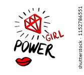 fashion power girl background... | Shutterstock .eps vector #1152786551