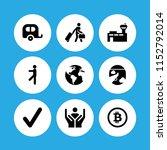 international icon. 9... | Shutterstock .eps vector #1152792014