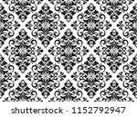 floral pattern. vintage... | Shutterstock .eps vector #1152792947