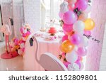 candybar for child's birthday... | Shutterstock . vector #1152809801
