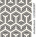 vector seamless pattern. modern ... | Shutterstock .eps vector #1152818387