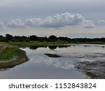 cloud reflections at old moor...   Shutterstock . vector #1152843824