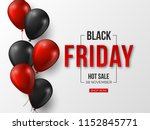 black friday sale typographic... | Shutterstock .eps vector #1152845771