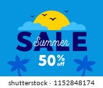 sale banner template design ... | Shutterstock .eps vector #1152848174