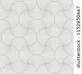 geometric pattern vector.... | Shutterstock .eps vector #1152850667