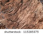 Closeup Of A Brown Stone...