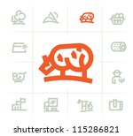resources icons | Shutterstock .eps vector #115286821