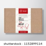 fine quality organic pork craft ... | Shutterstock .eps vector #1152899114