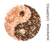salt   pepper. two essential...   Shutterstock . vector #1152899411