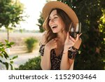 Image Of Laughing Young Woman...
